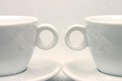 Tea cups symmetry