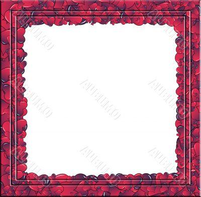 Hearts invasion portrait frame