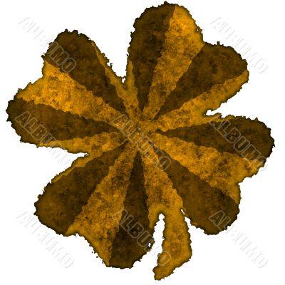 Shamrock burnt parchment