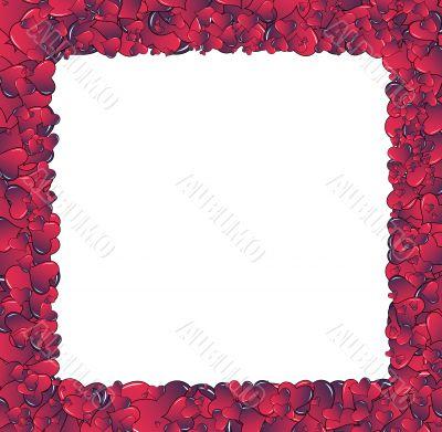 Hearts invasion big frame
