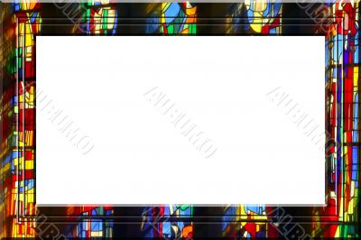 Church fantasy portrait frame