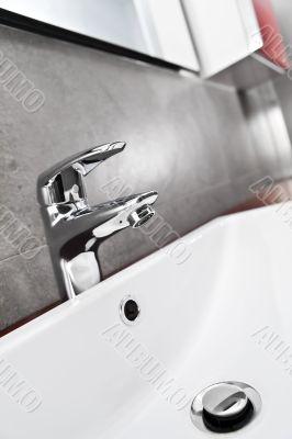 Sink closeup diagonal