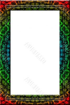 Maya fantasy portrait frame
