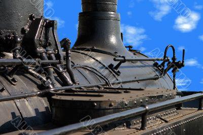 Locomotive closeup