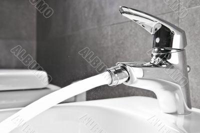 Bidet faucet water