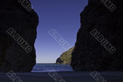 Cove in Mallorca, Spain