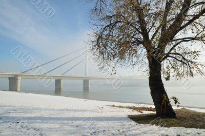 Bridge on Danube river