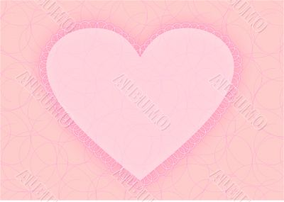 valentine's day, postcard, greeting, heart, love