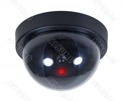 Domed Security Camera