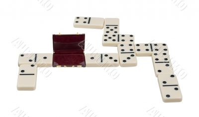 Briefcase as a Domino Piece