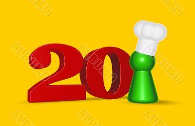 number twenty cook