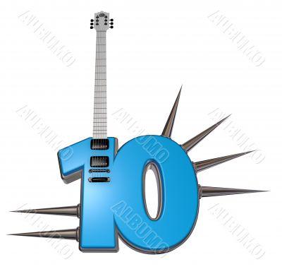 number ten guitar