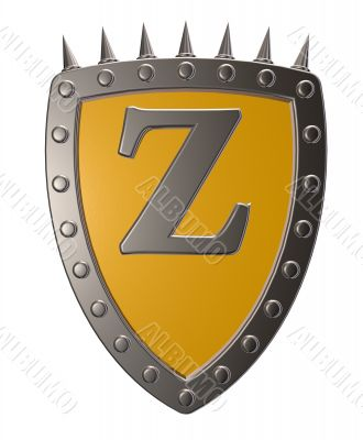 shield with letter z