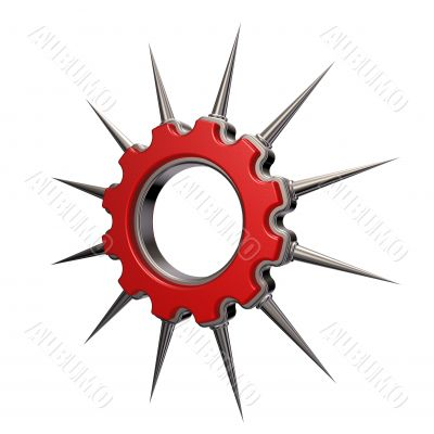 prickles gear wheel