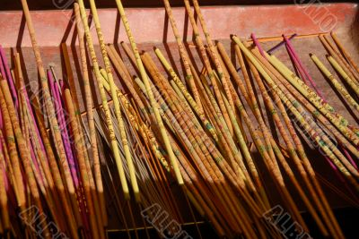 Buddhist incense sticks