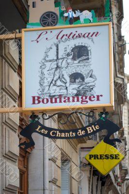 Parisian patisserie.