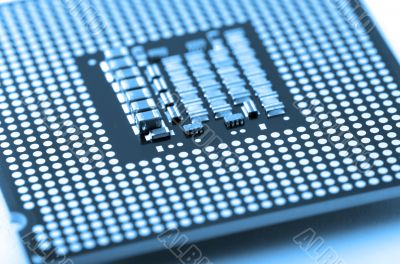 circuit board of laptop CPU