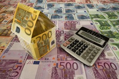 Calculation of housing costs in Euro