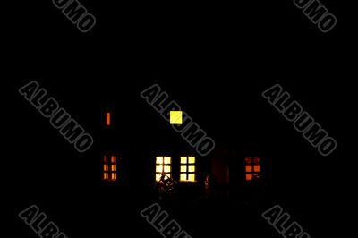Light windows in the darkness
