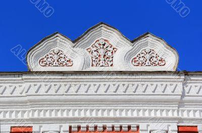 Detail theatre with Samara blazon