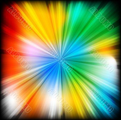 Multi-coloured beams - eps 10