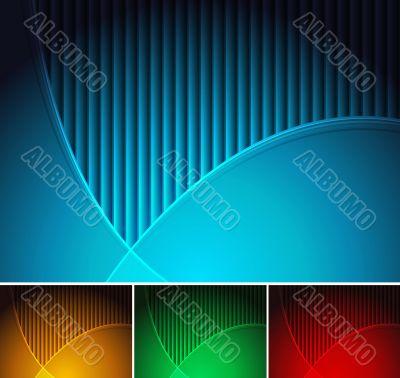 Backgrounds set - eps 10