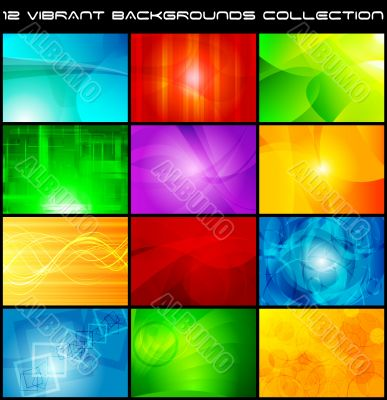 Abstract backgrounds collection - eps 10