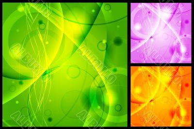 Vibrant backgrounds