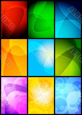 Simple vector backgrounds
