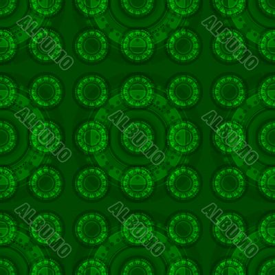 Tech seamless pattern