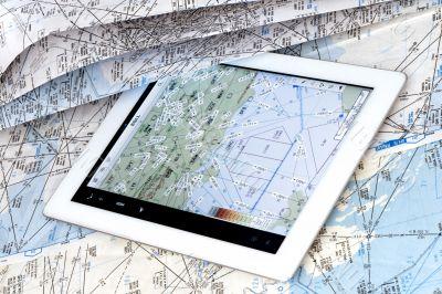 aeronautical navigational chart