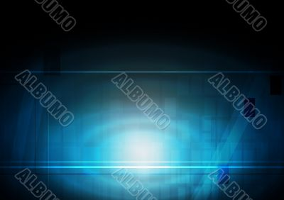 Vibrant technical backdrop