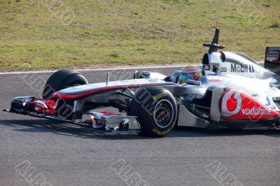 Team McLaren F1, Lewis Hamilton, 2011