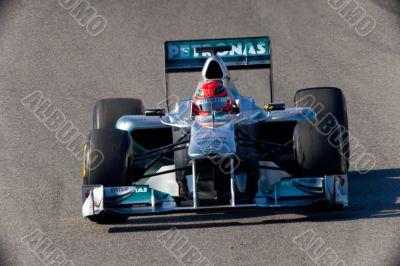 Team Mercedes F1, Michael Schumacher, 2011