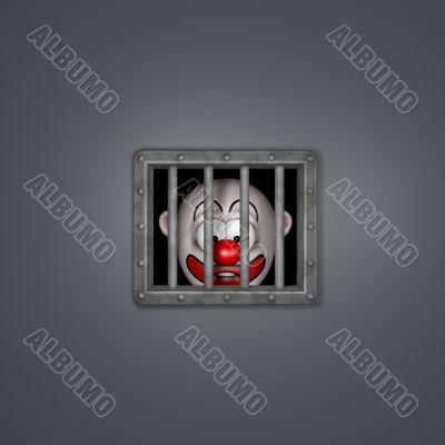 clown prisoner