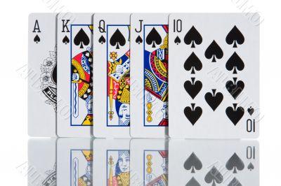 Spade Royal Flash
