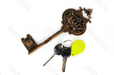 Big and small key fob