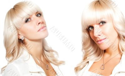 sexy blonde twins