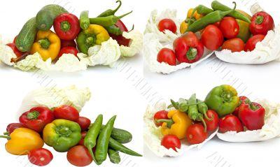 Homegrown vegetable