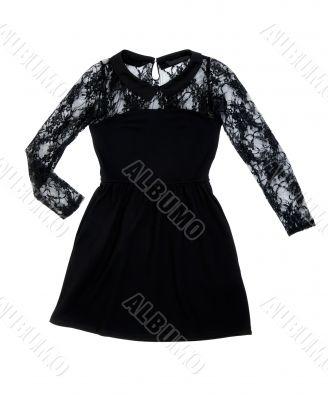 Black women`s fashion dress