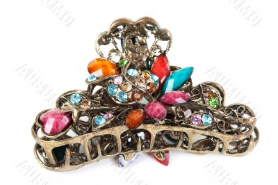 hairgrip with precious stones
