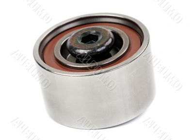 Motor bearing with bolt