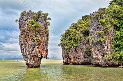 Landscape James Bond Island
