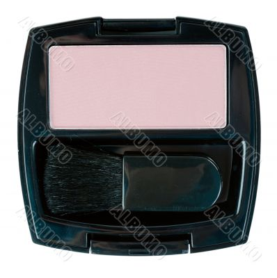 Cosmetic set with powder