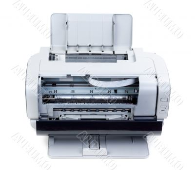 Open color inkjet printer