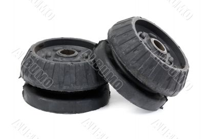 Black support bearing shock absorber car