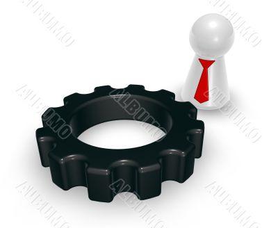 gear wheel and token