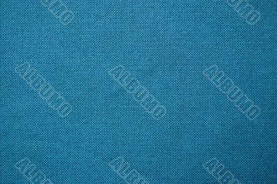 Blue textile.