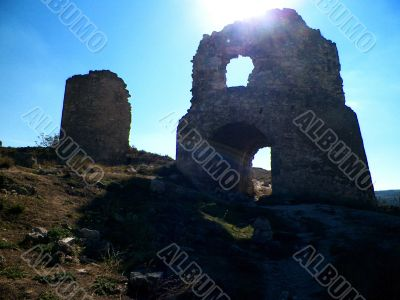 Genoese fortress.