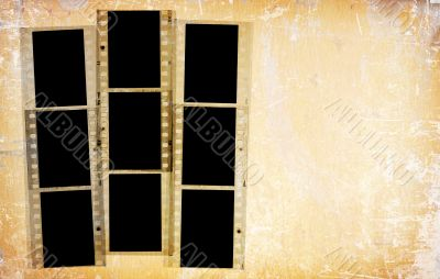 35mm film strips